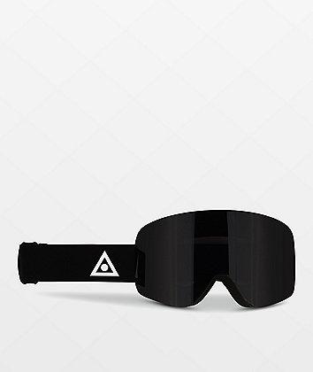 Ashbury Sonic Triangle Black Snowboard Goggles