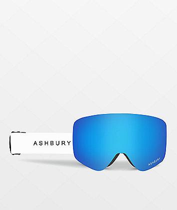 Ashbury Sonic White Snowboard Goggles