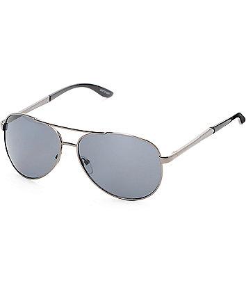 Aviator Black Sunglasses