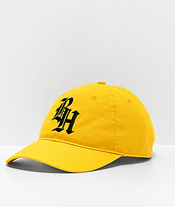 BROCKHAMPTON Yellow Strapback Hat