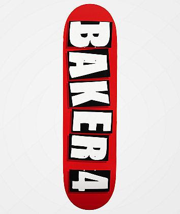 """Baker 4 OG Red 8.25"""" Skateboard Deck"""