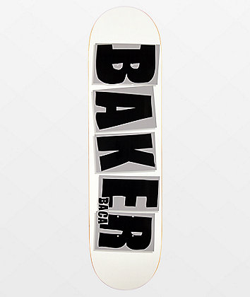 """Baker Baca Brand Name 8.0"""" Skateboard Deck"""