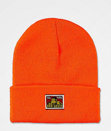 Ben Davis Orange Beanie