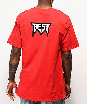 Best Doom Logo Red T-Shirt