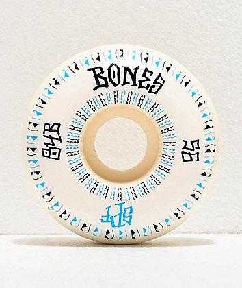 Bones SPF Linears Fatt 56mm 84b White Skateboard Wheels