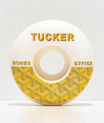 Bones STF Pro Tucker Goyard V1 52mm 103a Skateboard Wheels