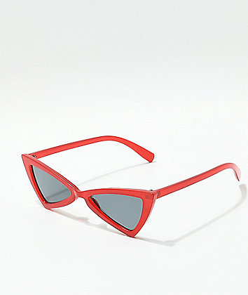 Bow Tie Red Sunglasses