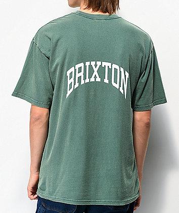 Brixton Forte V Emerald T-Shirt