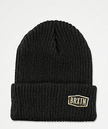 Brixton Malt Black Beanie