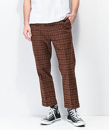 Brixton Regent Brown Trouser Pants
