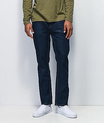 Brixton Reserve Dark Wash Denim Jeans
