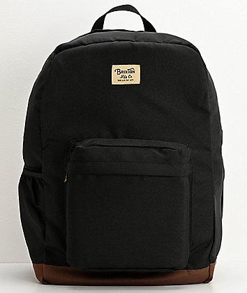 Brixton Trail II Black Backpack