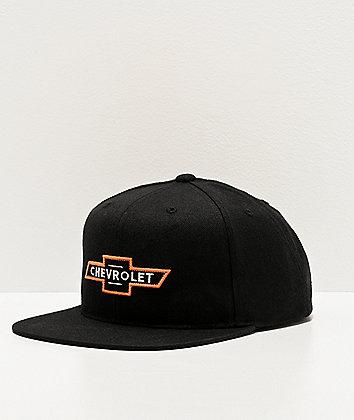 Brixton x Chevy Bowtie Bel Air Black Snapback Hat