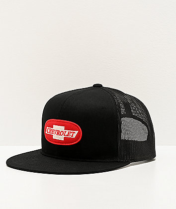 Brixton x Chevy Michigan Bel Air Black Trucker Hat