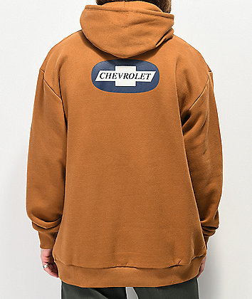 Brixton x Chevy Michigan Brown Hoodie