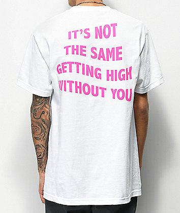 Broken Promises April 20th White T-Shirt