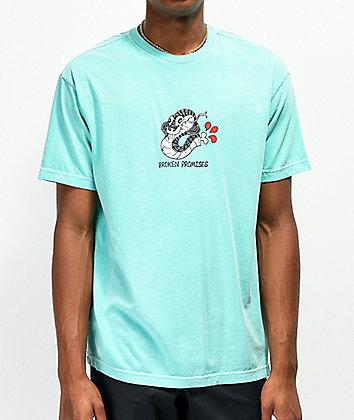 Broken Promises Severed Green T-Shirt