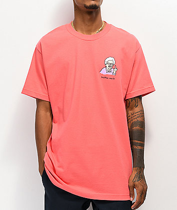 Brother Merle Betty 2.0 Coral T-Shirt