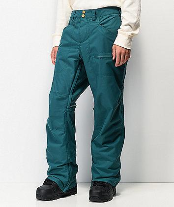 Burton Covert Deep Teal 10K Snowboard Pants