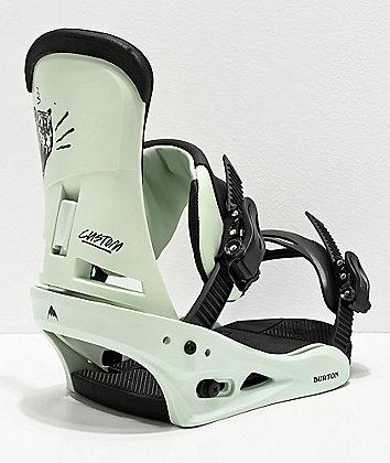 Burton Custom Sea Foam Snowboard Bindings 2020