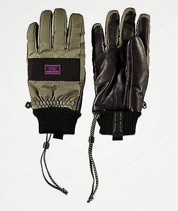 Burton DAM guantes de snowboard de camuflaje