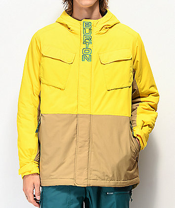 Burton Edgecomb Maize & Kelp Puffer Jacket