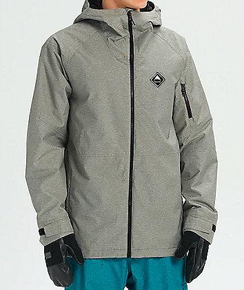 Burton Hilltop Shade Heather 10K Snowboard Jacket
