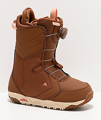 Burton Limelight Boa Brown Snowboard Boots Women's 2020
