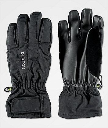 Burton Profile Under guantes de snowboard negros para mujeres