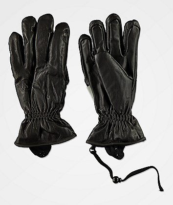 CG Habitats Game Changer Black Snowboard Gloves