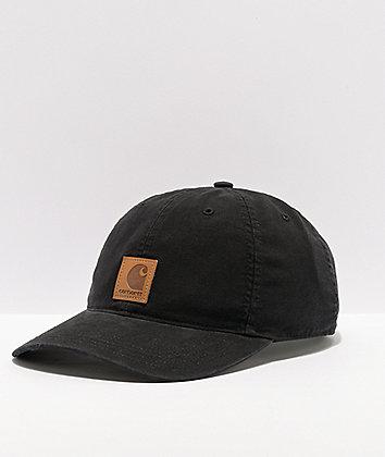 Carhartt Odessa Black Strapback Hat