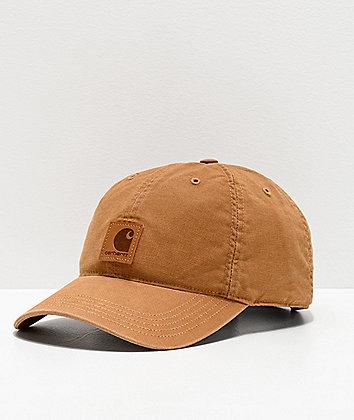 Carhartt Odessa Brown Strapback Hat