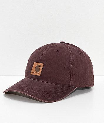 Carhartt Odessa Deep Wine Strapback Hat