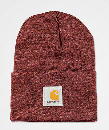 Carhartt Watch Henna & Dark Cedar Beanie