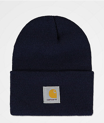 Carhartt Watch Navy Beanie