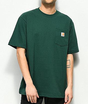 Carhartt Workwear Hunter Green Pocket T-Shirt