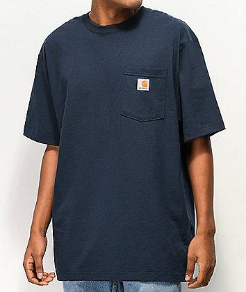 Carhartt Workwear Navy Pocket T-Shirt