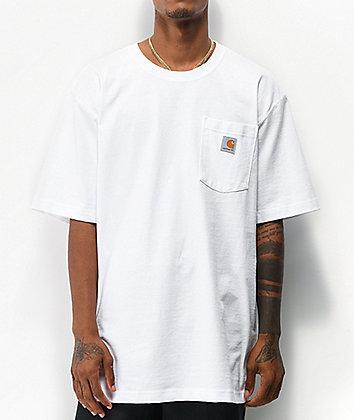 Carhartt Workwear White Pocket T-Shirt