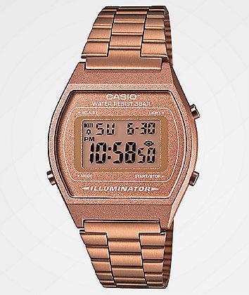 Casio Vintage Rose Gold Digital Watch