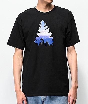 Casual Industrees Johnny Tree Rainier Black T-Shirt