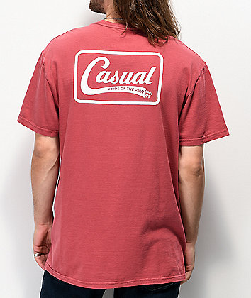 Casual Industrees PNW Down Since 99 Red T-Shirt