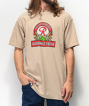 Casual Industrees x Rainier NW Fresh Natural T-Shirt