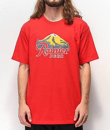 Casual Industrees x Rainier Rainbeer Red T-Shirt