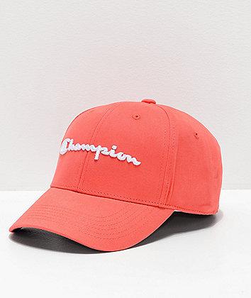 Champion Classic Twill Groovy Papaya Strapback Hat