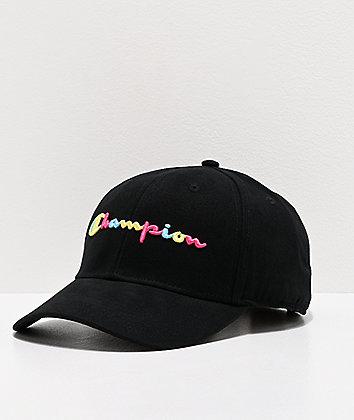 Champion Classic Twill Multicolor & Black Strapback Hat