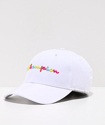 Champion Classic Twill Multicolor & White Strapback Hat