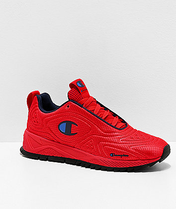 Champion Flex Scarlet & Navy Shoes