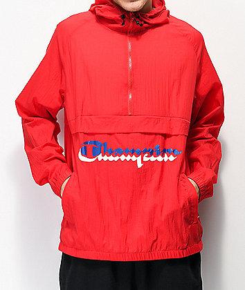Champion Manorak Scarlet Anorak Jacket