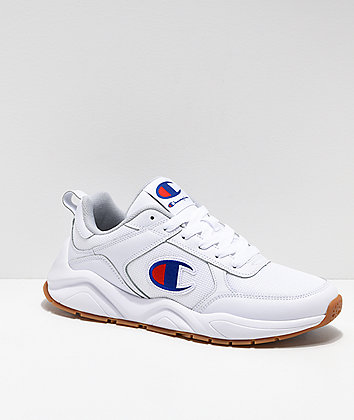 Champion Men's 93 Eighteen Classic White Shoes