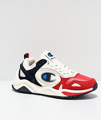 Champion NXT Red & Navy Shoes